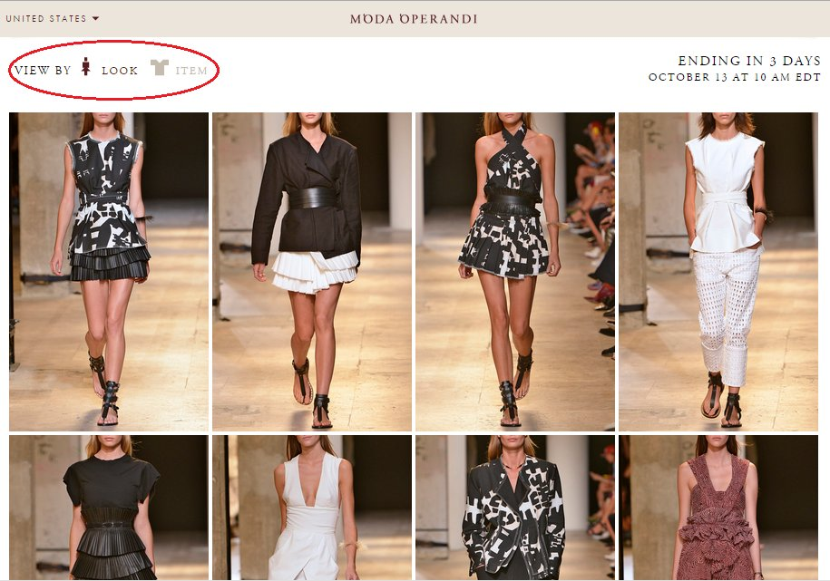Moda Operandi shop by look
