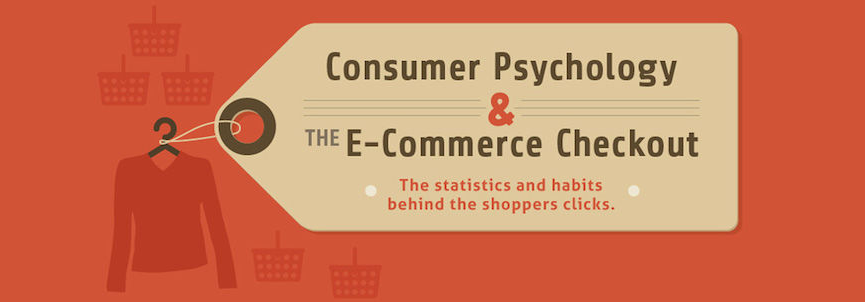 online shopper behavior infographic