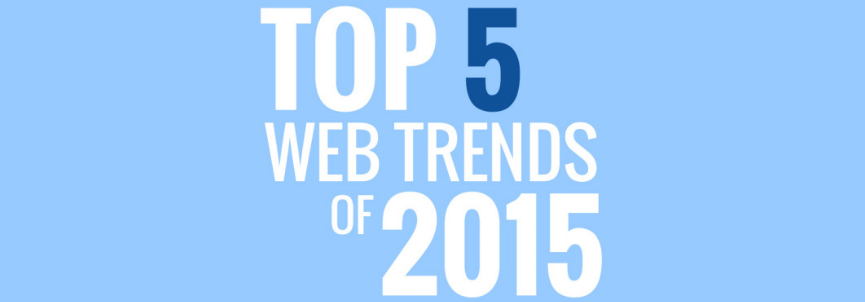 top web design trends for 2015