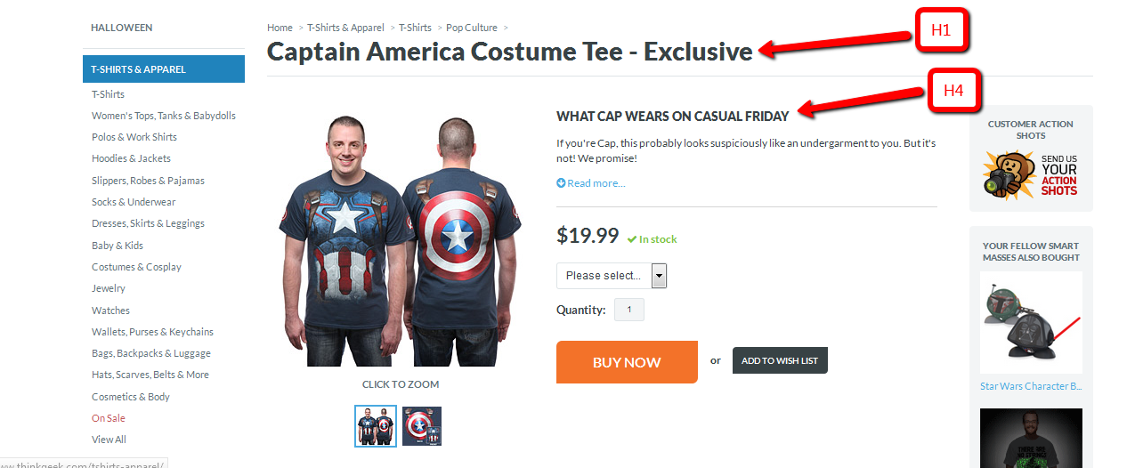 thinkgeek captain america pp example