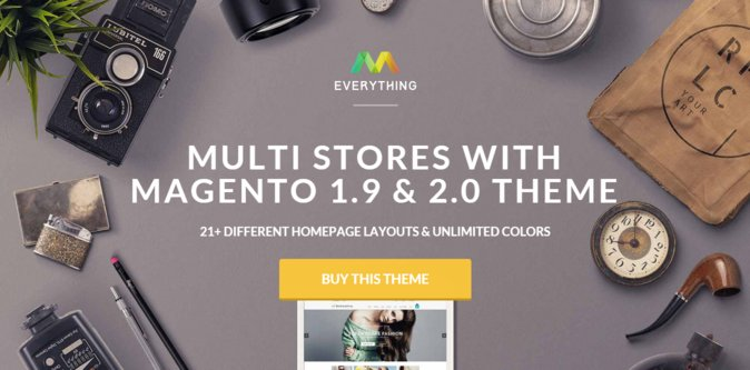 Everything Magento Theme