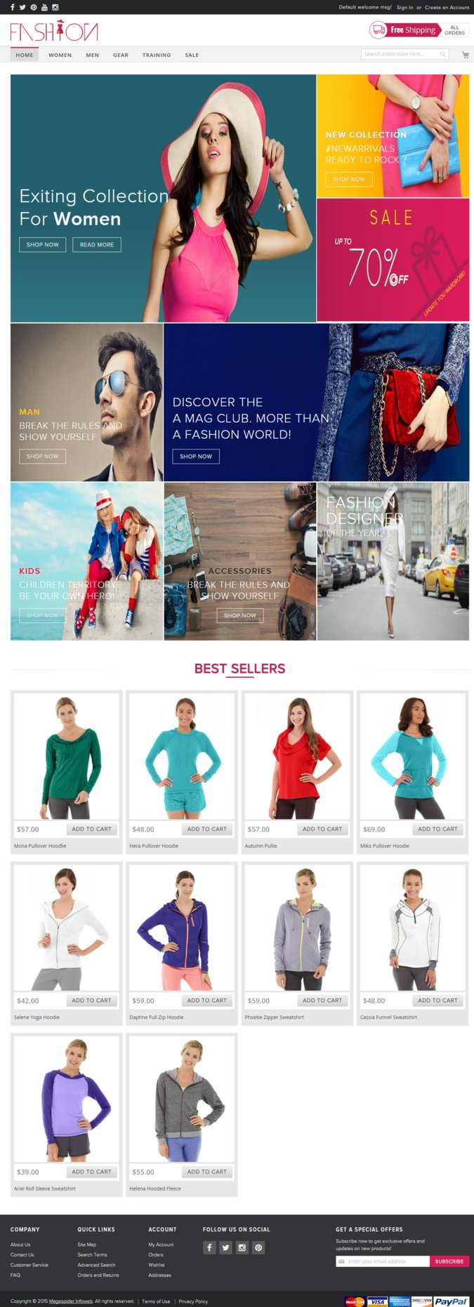 Magento 2 Fashion Theme Download
