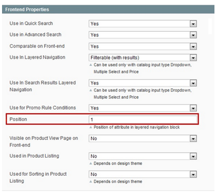 magento layered navigation filters order