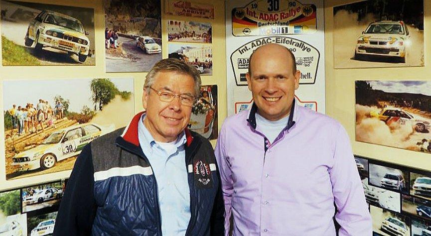 Leander with Henk Vossen