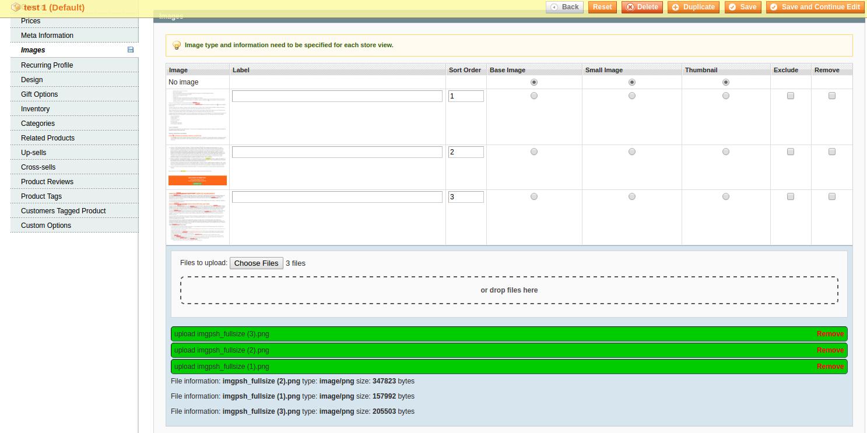 HTML5 Uploader Success