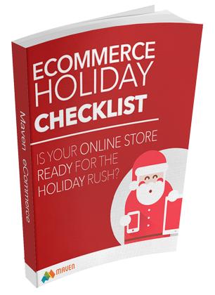 E-commerce Holidays Checklist