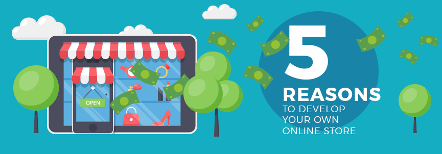 reasons to develop your own online store