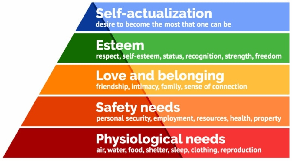 colourful hierarchy